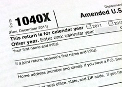 Want to File an Amended Tax Return?
